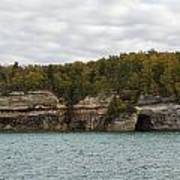 Lake Superior Pictured Rocks 45 Poster