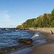 Lake Superior Union Bay 4 Poster