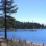 Lake Tahoe Dock Poster