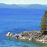 Lake Tahoe Rocky Point Poster