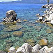 Lake Tahoe Shore Poster