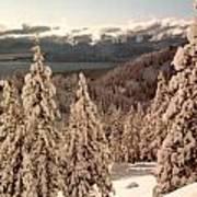 Lake Tahoe Snow Poster