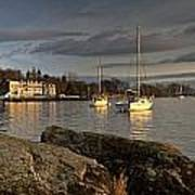 Lake Windermere Ambleside, Cumbria Poster by John Short