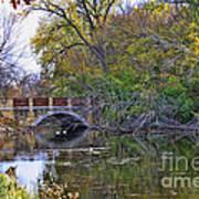 Lake Wingra Bridge Poster