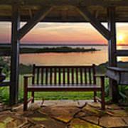 Lakeside Serenity Poster