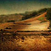Landscape #20. Winding Hill Poster