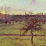 Landscape At Eragny Poster