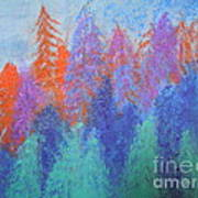 Landscape- Color Palette Poster