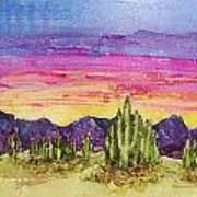 Landscape Poster by Regina Ammerman