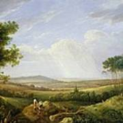 Landscape With Figures  Poster