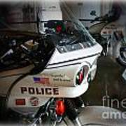 Lapd Motorcycle Poster