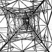 Large Electricity Powermast Poster
