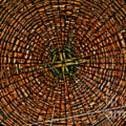 Largest Round Barn Ceiling Poster