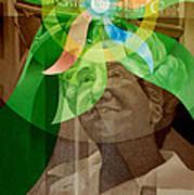 Laskey Portrait 1972 B Poster