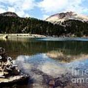 Lassen Mountain Lakes Poster