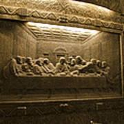 Last Supper - Wieliczka Salt Mine Poster