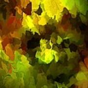 Late Summer Nature Abstract Poster