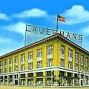 Lauerman's Department Store In Marinette Wi In 1910 Poster