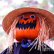 Laughing Pumpkin Poster