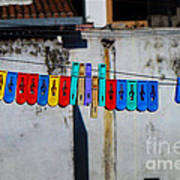 Laundry Clips Poster