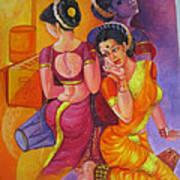 Lavani -indian Folk Dance. Poster