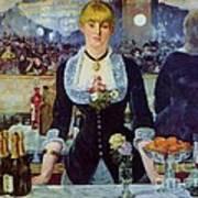 Le Bar Des Folies-bergere Poster