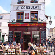 Le Consulat Cafe  Poster