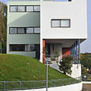 Le Corbusier Building Stuttgart Weissenhof Poster
