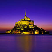 Le Mont Saint-michel, Normandy, France Poster