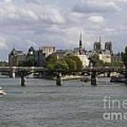 Le Pont Des Arts. Paris. France Poster