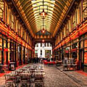 Leadenhall Market Interior Poster