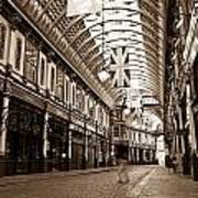 Leadenhall Market London With  Poster