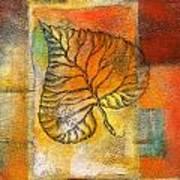 Leaf Whisper 4 Poster
