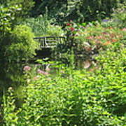 Leaming Run Gardens Pond Poster