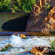 Leasburg Dam New Mexico Poster