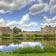 Leeds Castle Reflected Poster