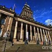 Leeds Town Hall Poster