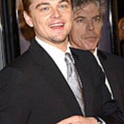 Leonardo Dicaprio At The Premiere Poster