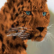 Leopard - Featured In The Group Wildlife Poster