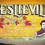 Leslieville Toronto Poster
