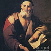 Leucippus, Ancient Greek Philosopher Poster by Science Source