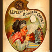 Levering's Roasted Coffee Poster