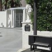 Liberace's Driveway Poster