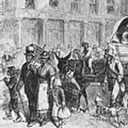 Liberated Slaves, 1861 Poster