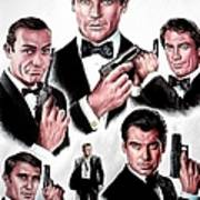 Licence To Kill  Digital Poster by Andrew Read