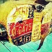 Licensed Pig Poster