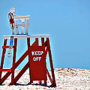 Life Guard Stand Poster