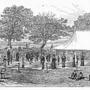 Life-sized Chess, 1882 Poster