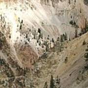 Light And Shadows In The Grand Canyon In Yellowstone Poster