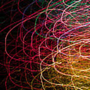 Light Painting 6 Poster